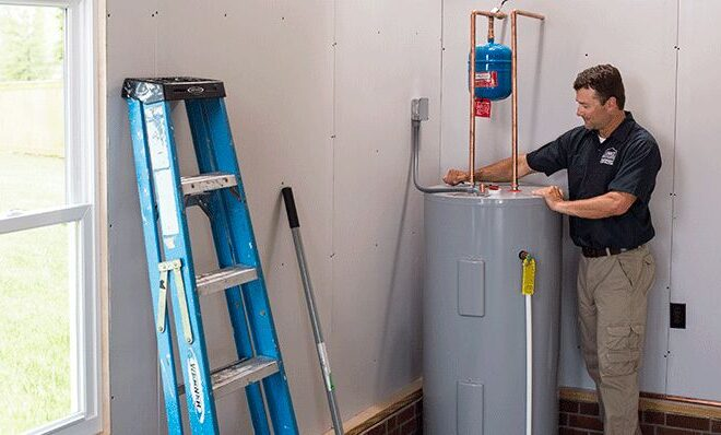 Electric water heater repairs near me